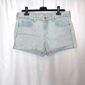 Old Navy Denim Boyfriend Shorts Size 10